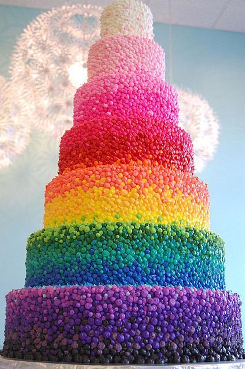 rainbow-wedding-cake